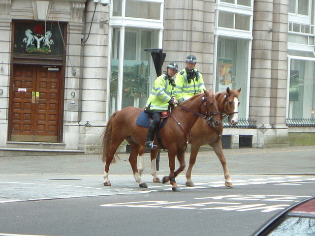 Mounted London Police