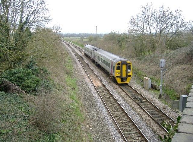 Bristol to Gloucester train