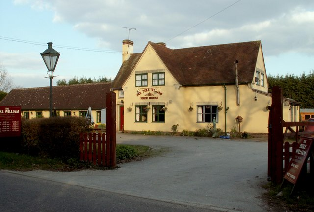 'The Duke William' inn at Metfield