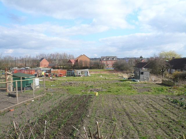 Danesmoor - Allotments off Guildford Lane