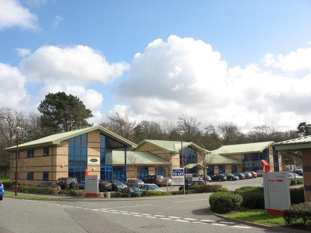 Business units at Llys y Fedwen, Parc Menai