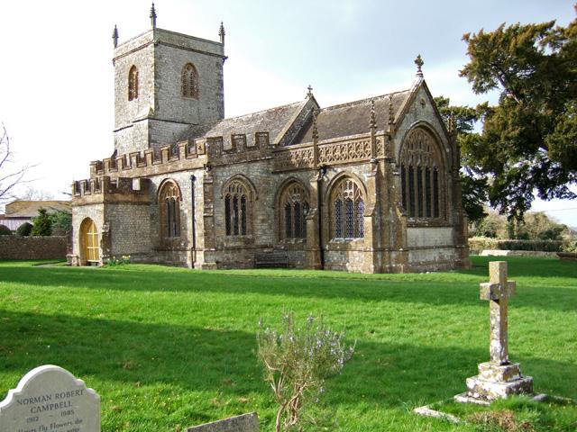 Mappowder Church