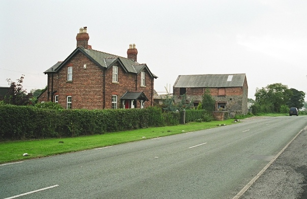 Farm on the A549 at Dobs Hill