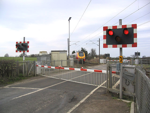 Warkworth level crossing