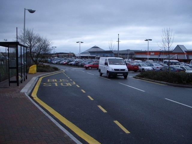 Ravenside Retail Park at Bexhill - I