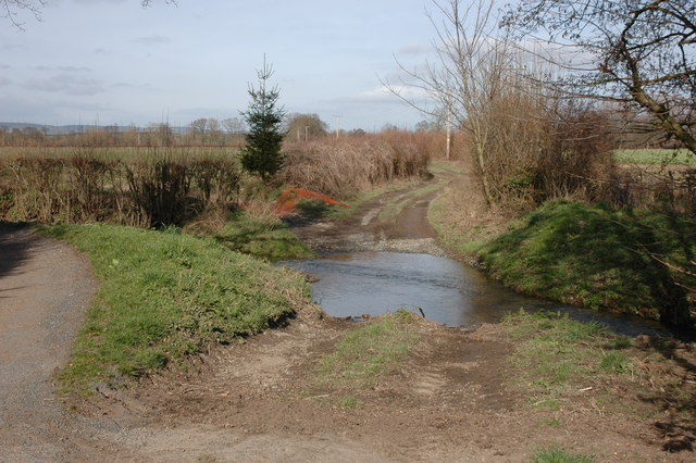 Ford through Moor Brook