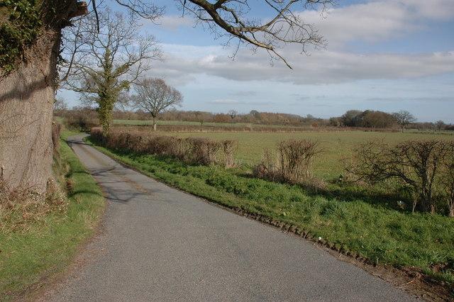 Lane to Monkland Common