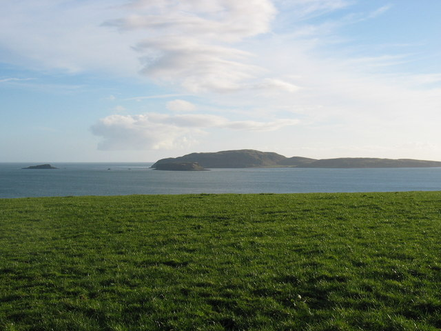 Sanda Island from Macharioch.