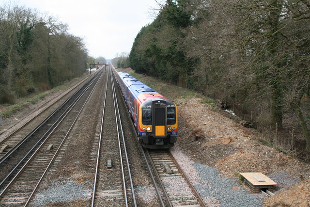 London and South Western Railway, Old Basing, Hampshire