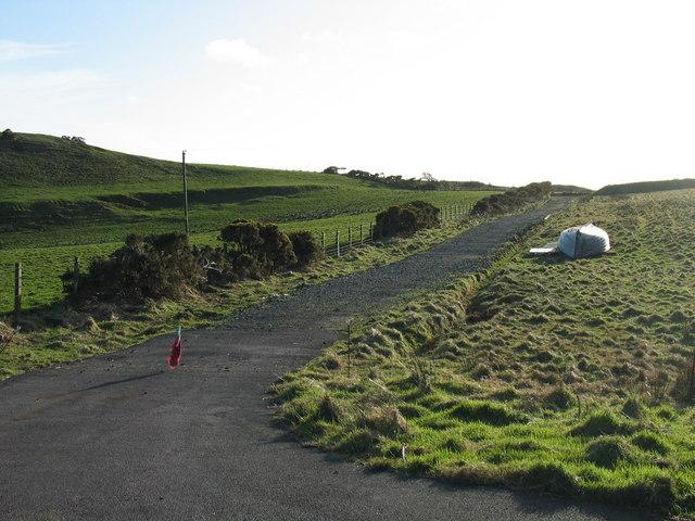 Country track near Kilbride.