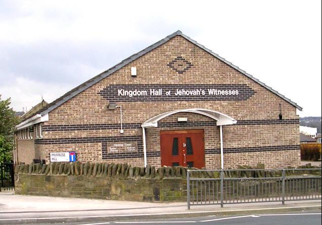 Kingdom Hall, Jehovah's Witnesses - Richardshaw Lane