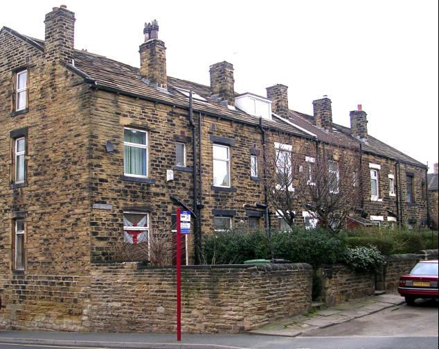 Wesley Terrace, Lidget Hill