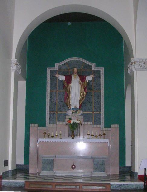 Sacred Heart Altar, St Peter's Church - Leeds Road