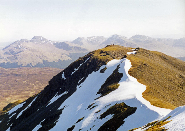 The Ridge of Beinn Challum