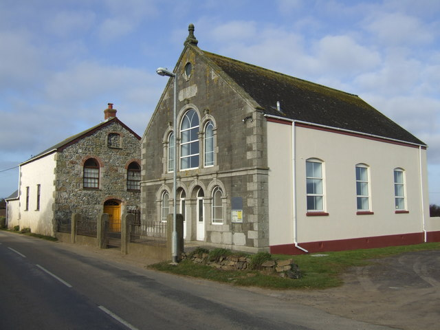 Two chapels at Cury White Cross