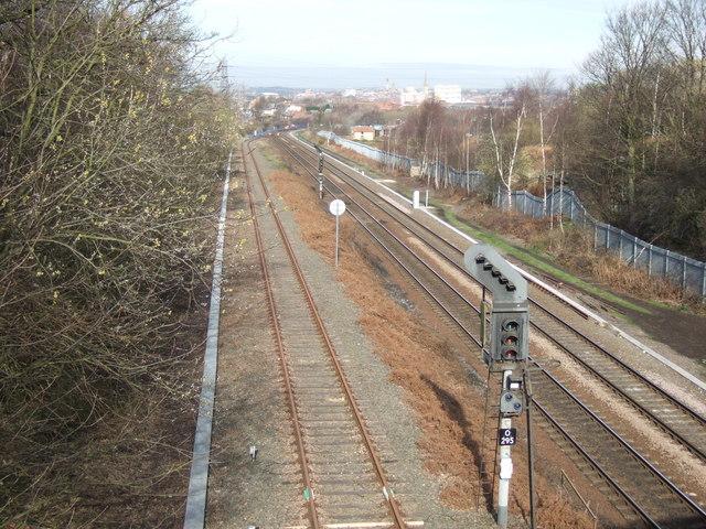 Railway, Oakenshaw Lane