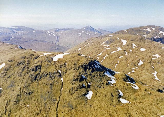 View from Ben Challum