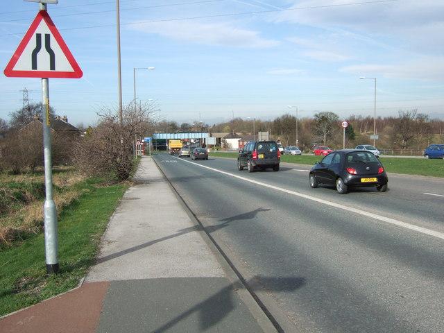 Approaching Wakefield