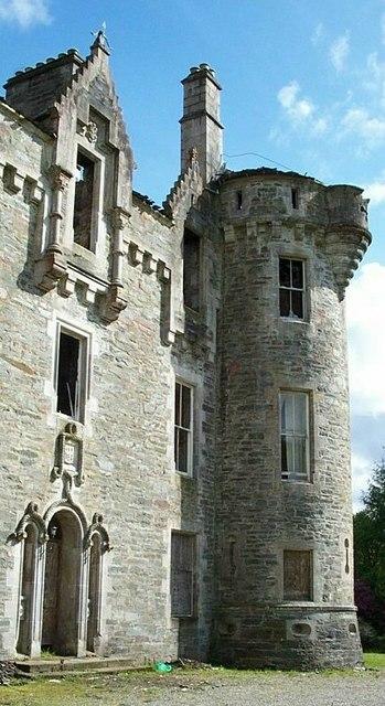 Dunan's Castle, Glendaruel