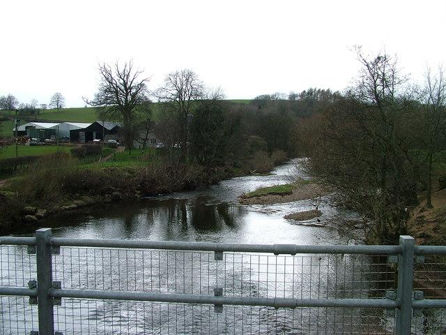 River Eden from Sandford Bridge