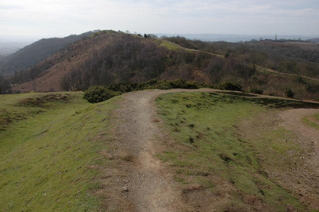 Earthworks on Hangman's Hill