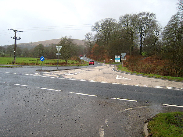 Road Junction A817 and A82
