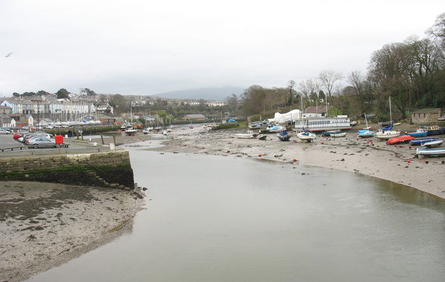 The Slate Quay at low tide