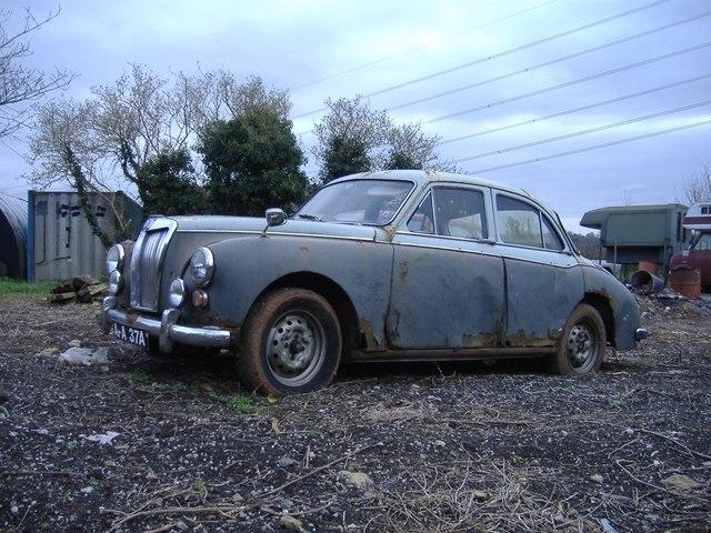 Classic car at Grove farm
