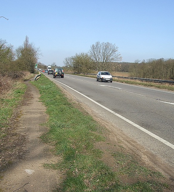 A5 near the Brickhills