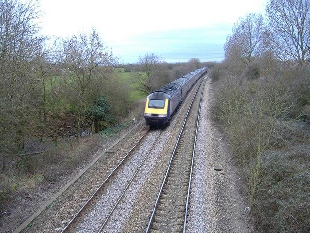 Paddington to Cardiff train