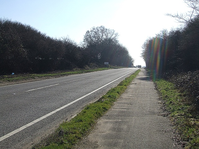 A5 looking southeast