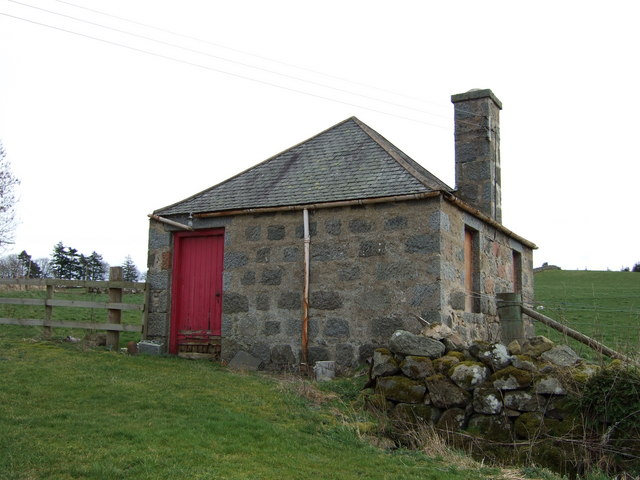 Bothy opposite the mill at Milltown of Craigmyle