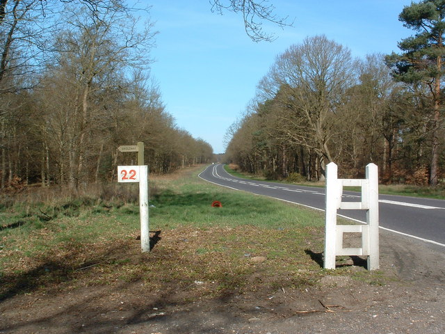 North Along The A134