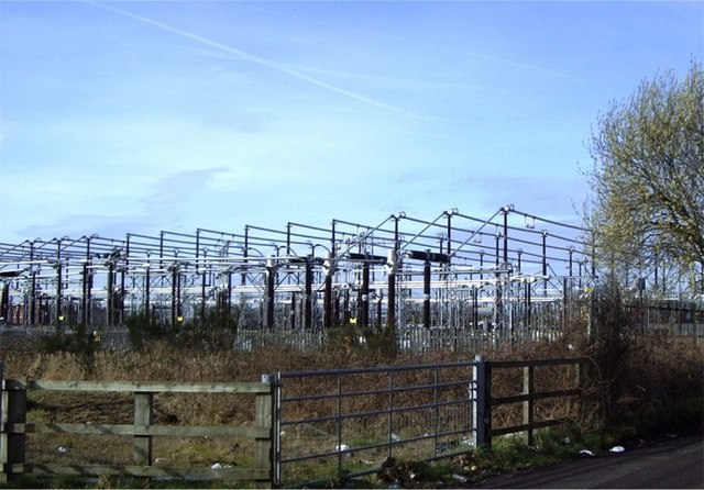Electricity sub station, Molly's Lane, Kirkby