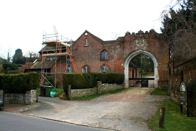 The Gateway, Basing House, Old Basing, Hampshire