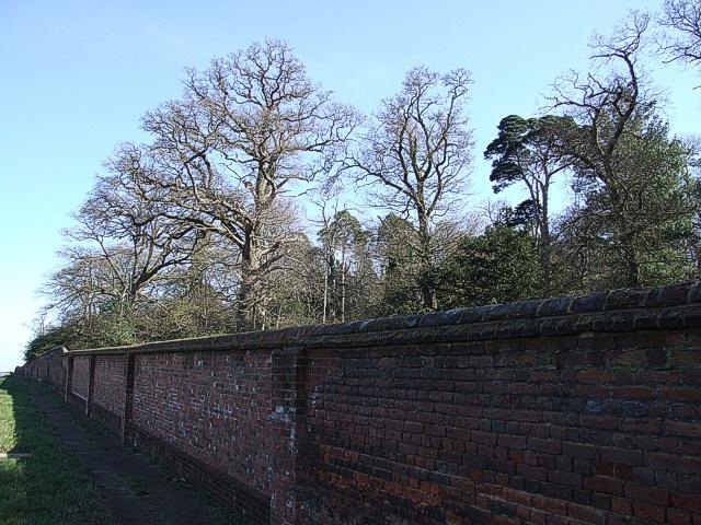 Woburn Abbey Wall