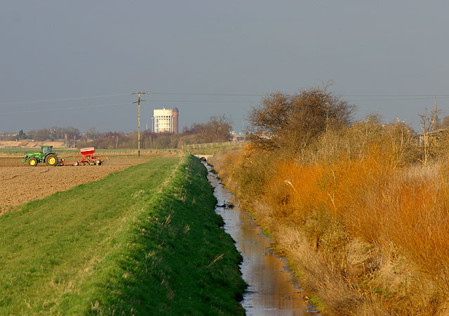 Drainage Ditch near Creykes Crossing