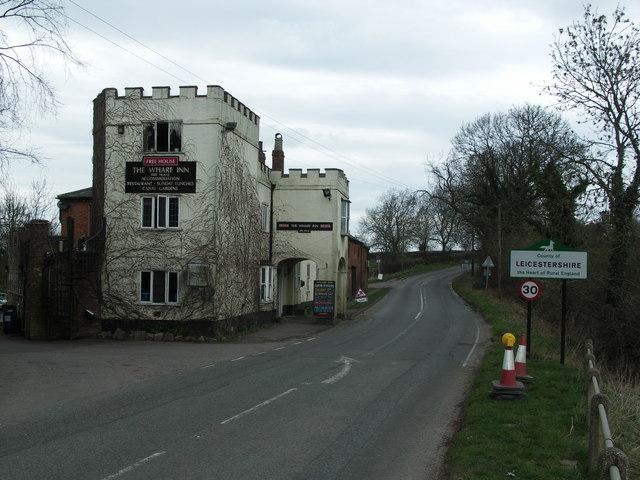 Inn on the County Boundary.