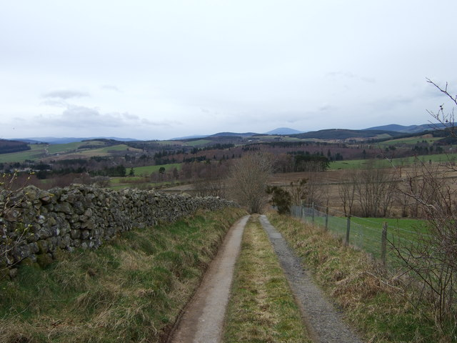 View west from near Cothill/Hirpletillum