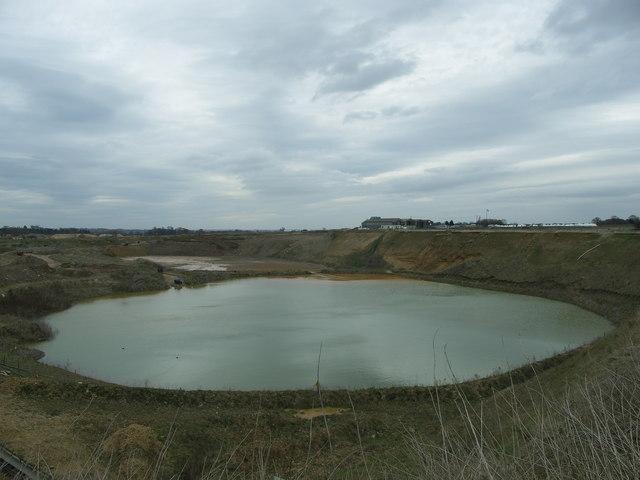 Sand Pit Lake.