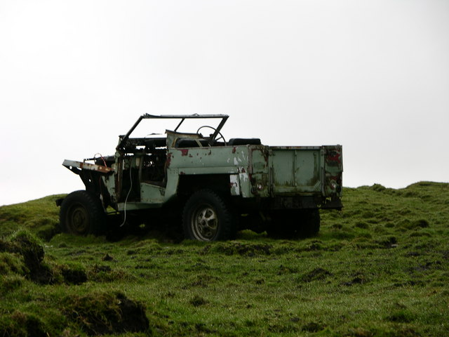 Jeep on Lark Hill