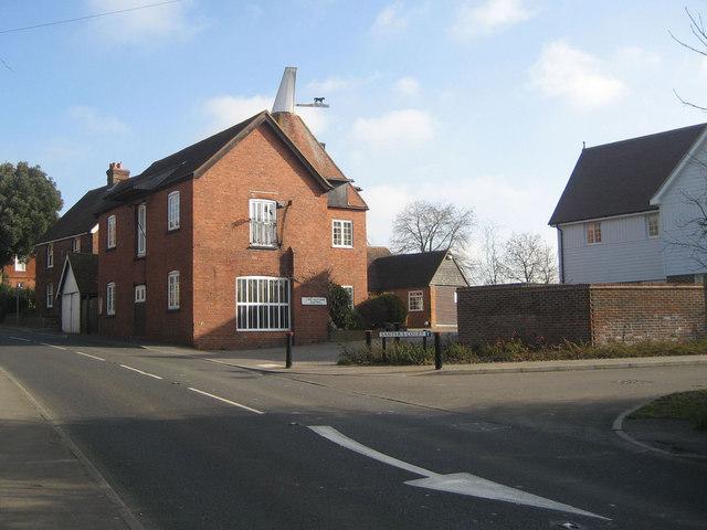 Gill's Green Oast, Cranbrook Road, Gill's Green, Kent