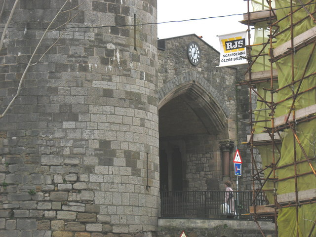 Porth Mawr/Exchequer Gate