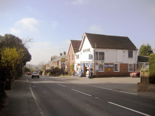 Garage & Post Office, Cranbrook Road, Gill's Green