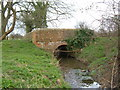 SP7531 : Small Road Bridge outside Great Horwood by Mr Biz
