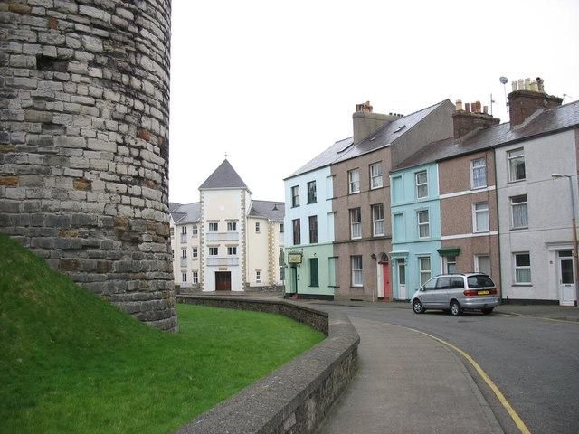 Houses on Bank Quay
