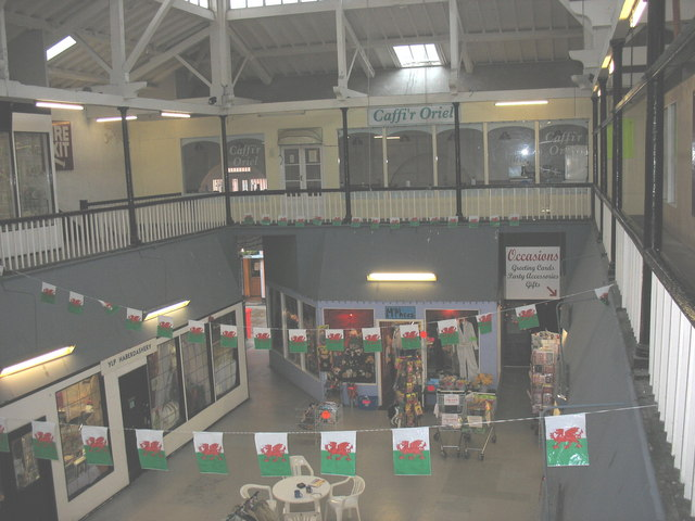The interior of the Market Hall