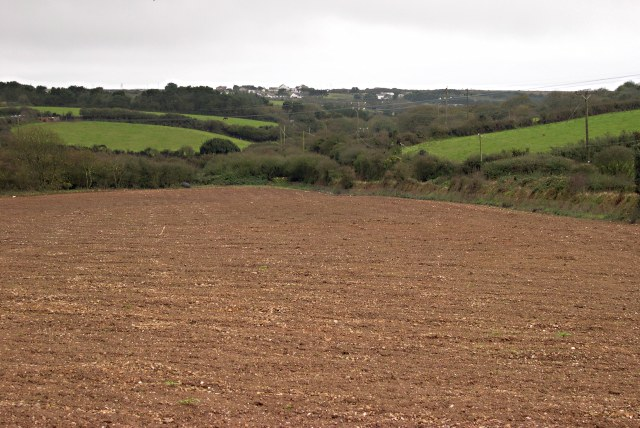 Ploughed Field east of Mingoose