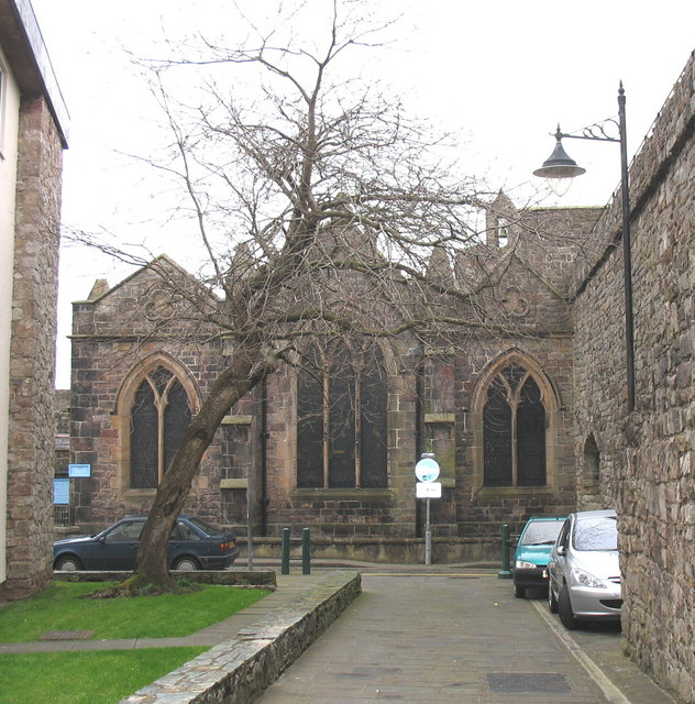 The eastern facade of St Mary's Church