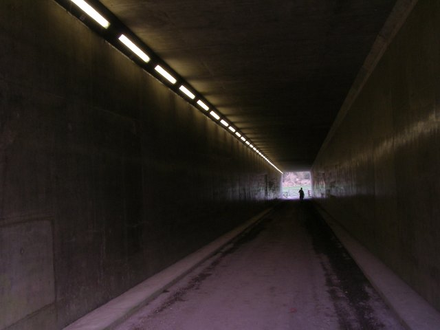 Subway beneath the M3 motorway, Compton